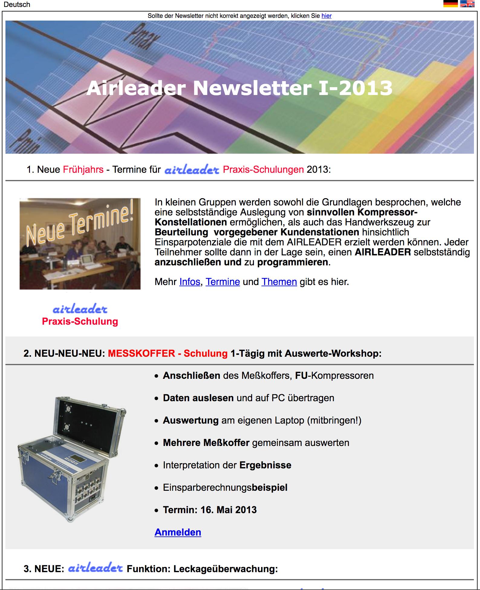 Airl Newsletter I 2013