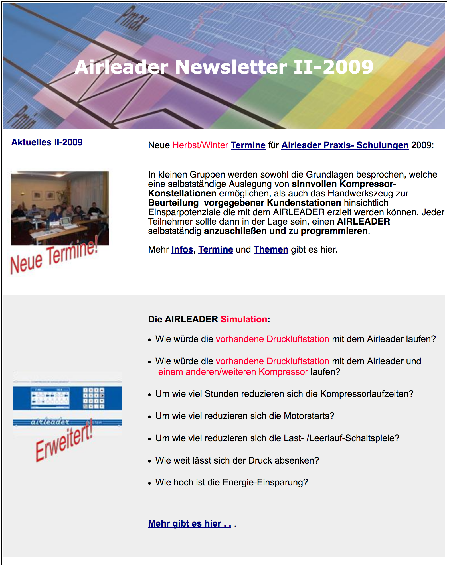 Airl Newsletter II 2009