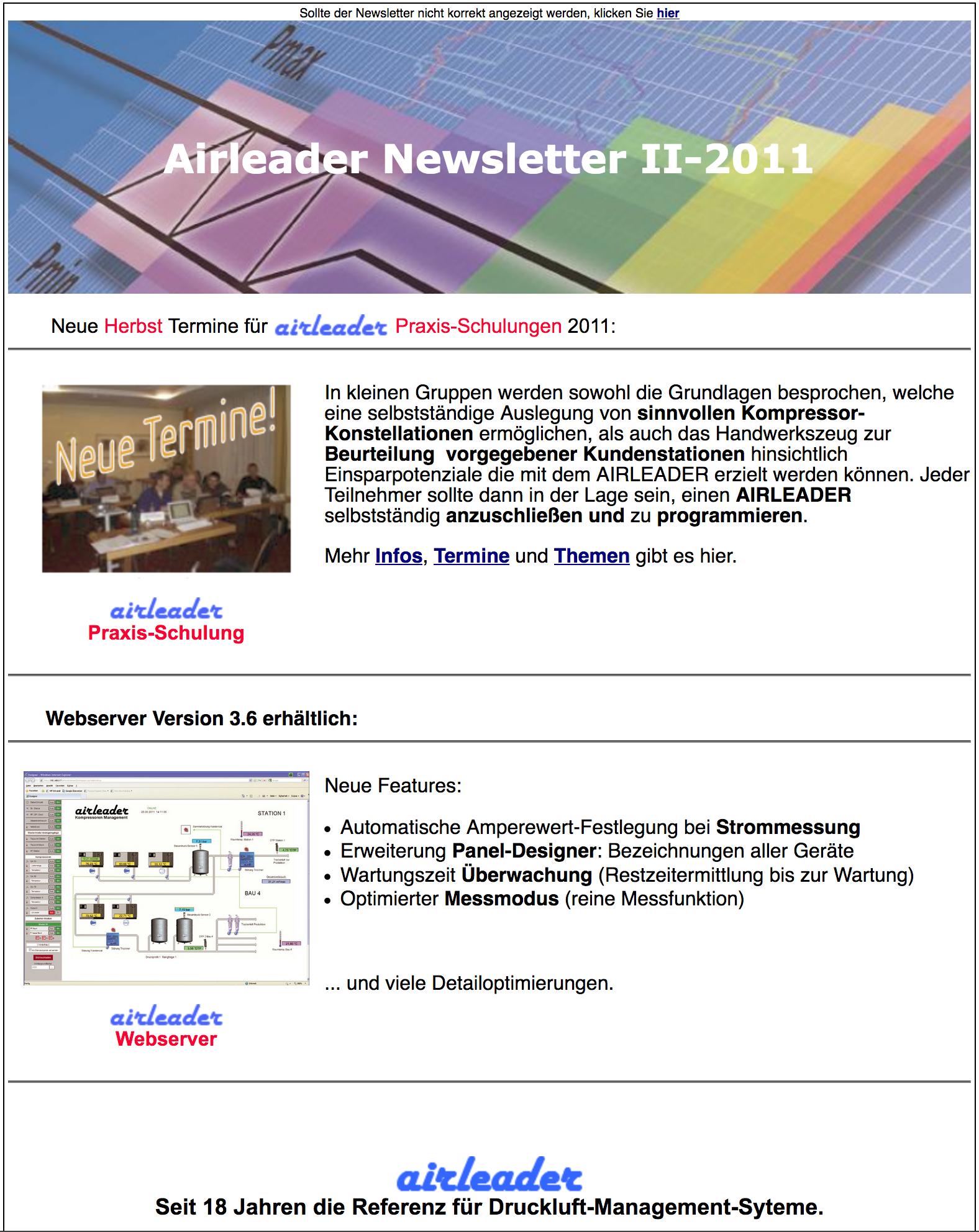 Airl Newsletter II 2011