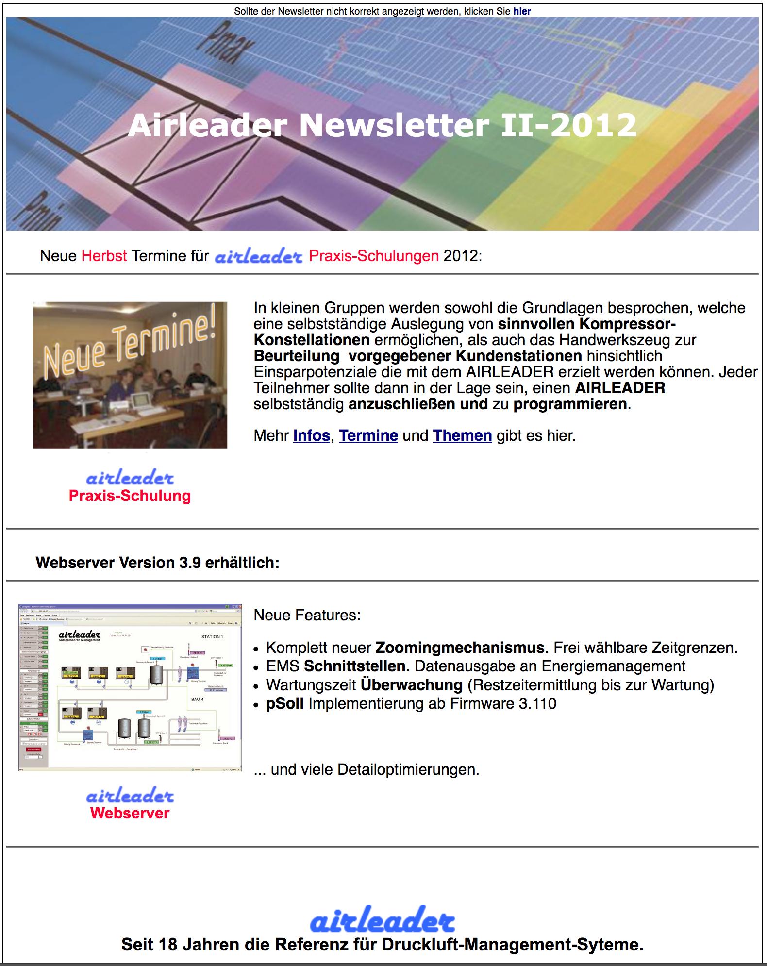 Airl Newsletter II 2012